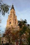 这是通告大教堂在哈尔科夫,乌克兰 免版税库存照片