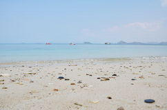 这是酸值西康省海岛 免版税库存图片