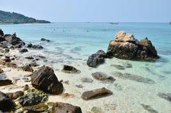 这是酸值西康省海岛 免版税库存照片