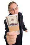 这里您的货币 免版税库存照片