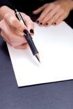 这里符号 免版税库存照片