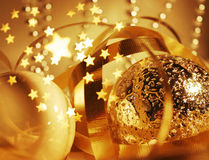 这里christmastime 免版税库存图片