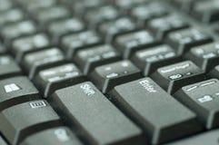 进入在键盘黑色的按钮 库存照片