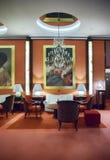 进入大厅在阿姆斯特丹旅馆里 库存照片