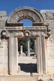 进口, Baram古老犹太教堂,以色列 免版税库存图片
