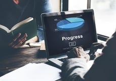 进展发展Imrpovement推进概念 免版税库存图片