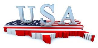 进贡美国 免版税库存图片
