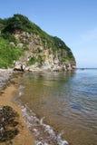 远东,俄罗斯,海风景 免版税库存图片
