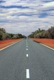 远射在澳洲内地 库存图片