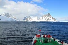 远征向南极洲 免版税库存照片