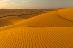 远征阿曼沙漠 免版税库存照片