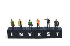 远期投资 库存图片