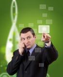 远期绿色 免版税库存图片