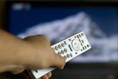 远程电视 免版税库存照片
