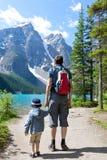 远足在加拿大 免版税库存照片