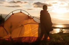 远足在挪威 免版税库存图片