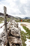 远足在波斯尼亚 库存照片