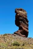 远足在泰德峰国家公园在特内里费岛加那利群岛,西班牙,欧洲 免版税库存照片