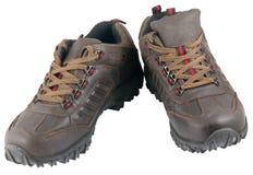 远足的鞋子 免版税库存图片