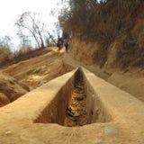 远足道路在阿维拉山,加拉加斯 免版税库存照片