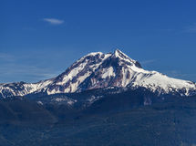 远足风景加拿大的风景夏天山 库存图片