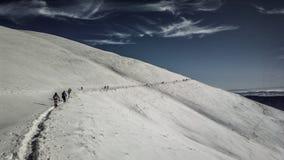 远足巴尔干山 库存照片