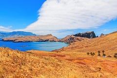 远足- Casa di Sardinha - Ponta de圣洛伦索的马德拉岛 免版税库存照片