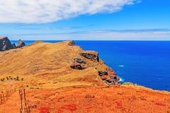 远足- Casa di Sardinha - Ponta de圣洛伦索的马德拉岛 免版税图库摄影