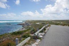 远足Rottnest海岛海岸 免版税库存图片