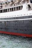 远洋班轮细节 免版税库存照片