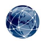 连接世界 向量例证