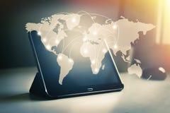连接和网络 免版税库存图片