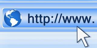 连接数互联网 库存照片