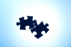 连接数难题重点错误 免版税库存图片