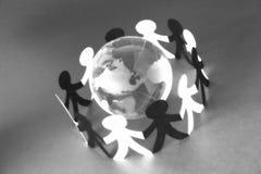 连接数ii全世界 免版税库存照片