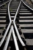 连接点铁路运输 库存图片