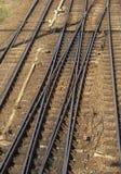 连接点铁路 库存照片