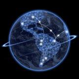 连接的世界 免版税图库摄影