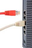 连接的网络 免版税库存图片