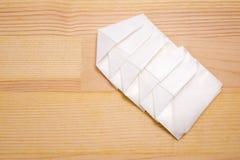 连接的被包裹的石蜡纸 图库摄影