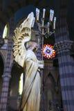 从连斗帽女大衣教会,科多巴(阿根廷)的细节 库存图片