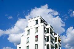 连栋房屋在柏林 库存图片