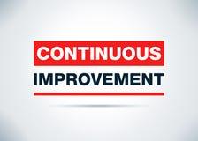 连续的改善摘要平的背景设计Illustrat 向量例证