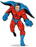 连续超级英雄 库存例证