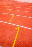 连续体育场跟踪 图库摄影