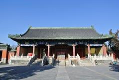 连续朝代的皇帝皇家寺庙  免版税图库摄影