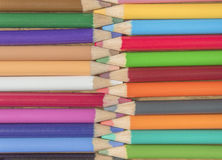 连结的铅笔 库存照片