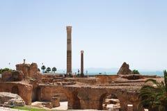 迦太基废墟 图库摄影