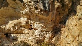 迦密山岩石 免版税库存图片