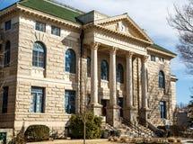迪卡尔布县法院大楼 免版税库存照片
